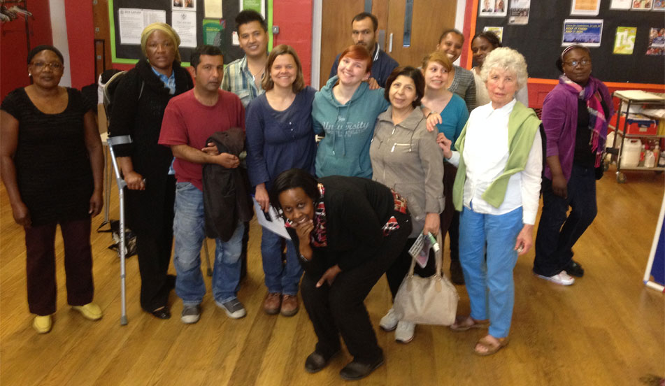 Setting up a homeopathy clinic for asylum seekers and refugees in South London