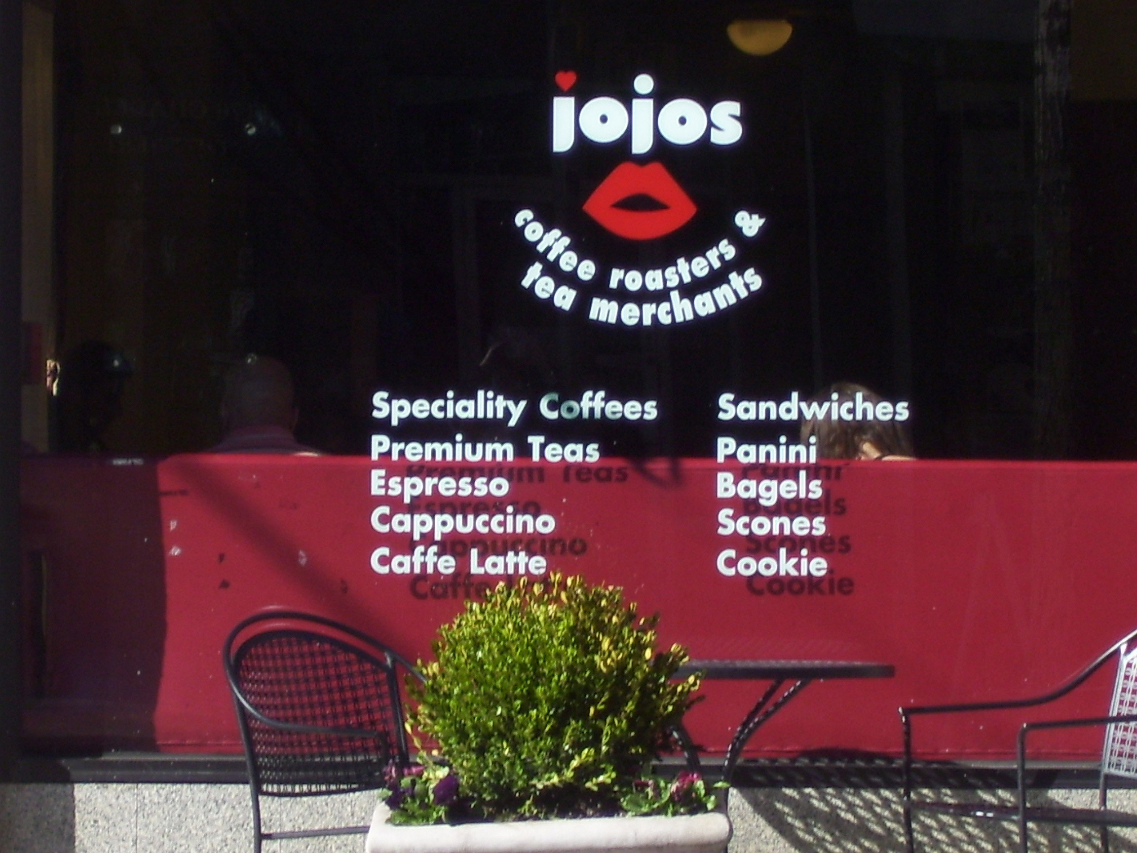 JoJo's Coffee 1177 Chapel Street (203) 785-8888