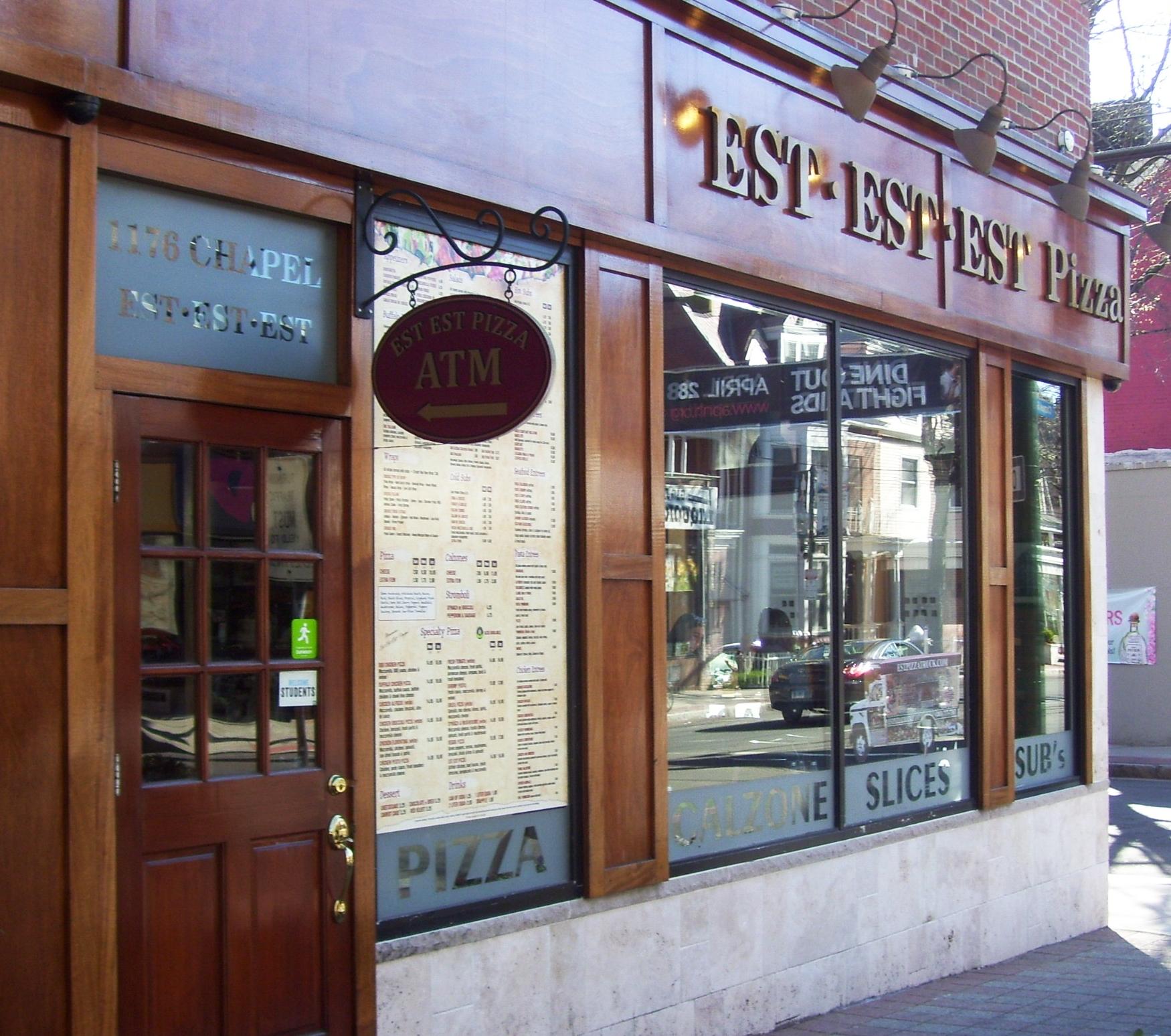 EST EST EST 1176 Chapel street (203) 777-2059