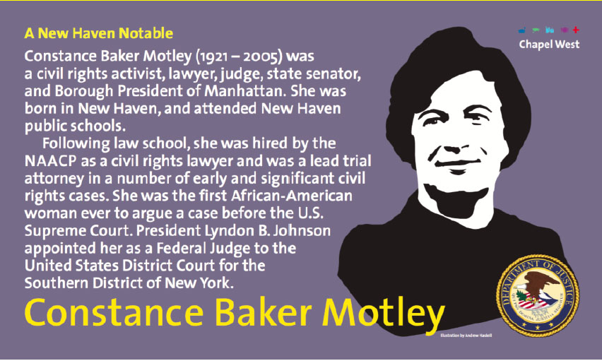 New banner in the notable campaign for Constance Baker Motley