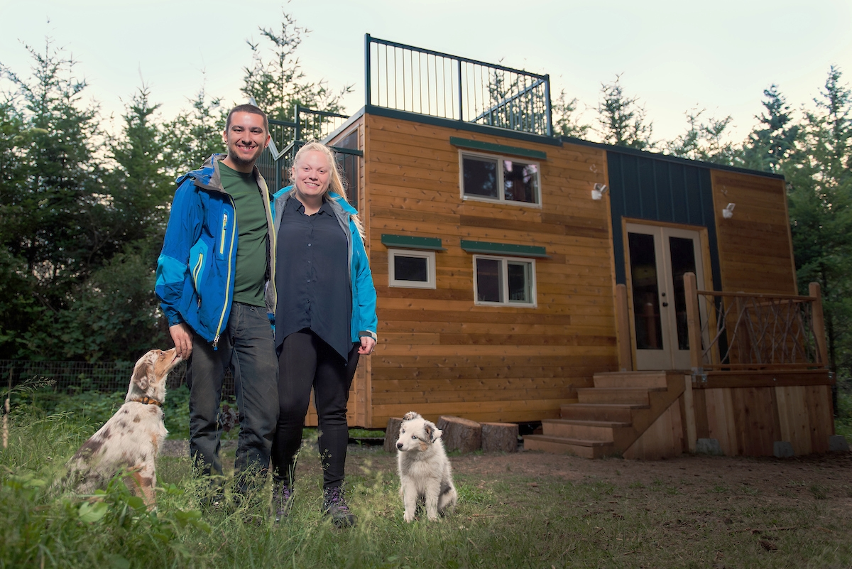 Luke and Tina's Basecamp Tiny House