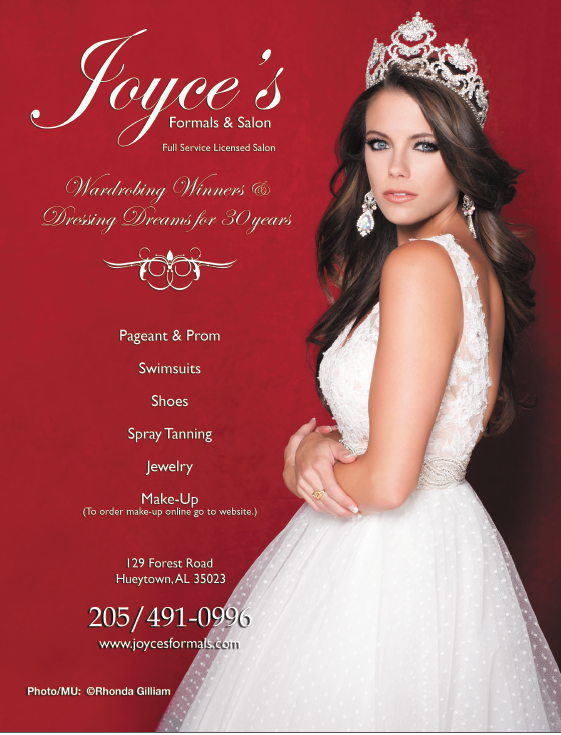 Madeline Gwin - Mrs. America 2016 wearing a Joyce's Gown