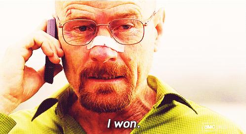 Walter White - I won