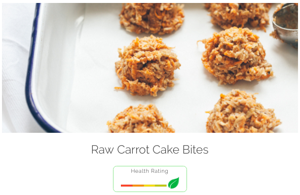 Carrot cake - and you don't even need an oven.