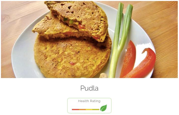 Pudla - 100% meat-free!