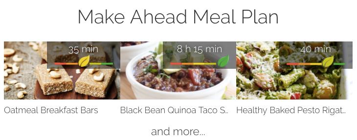 Planning your meals just became simpler