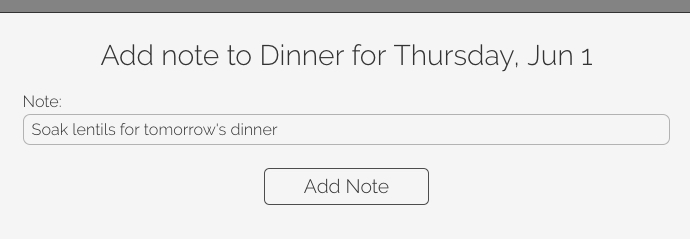 Set yourself reminders for the day before