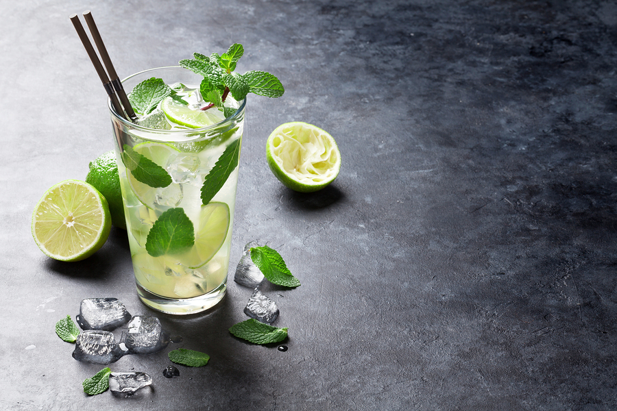 Pro tip: mint packs a great refreshing flavour in summer beverages and will be sure to satisfy any                                  cocktail craving!