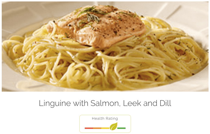 Linguine - with Salmon, Leek and Dill