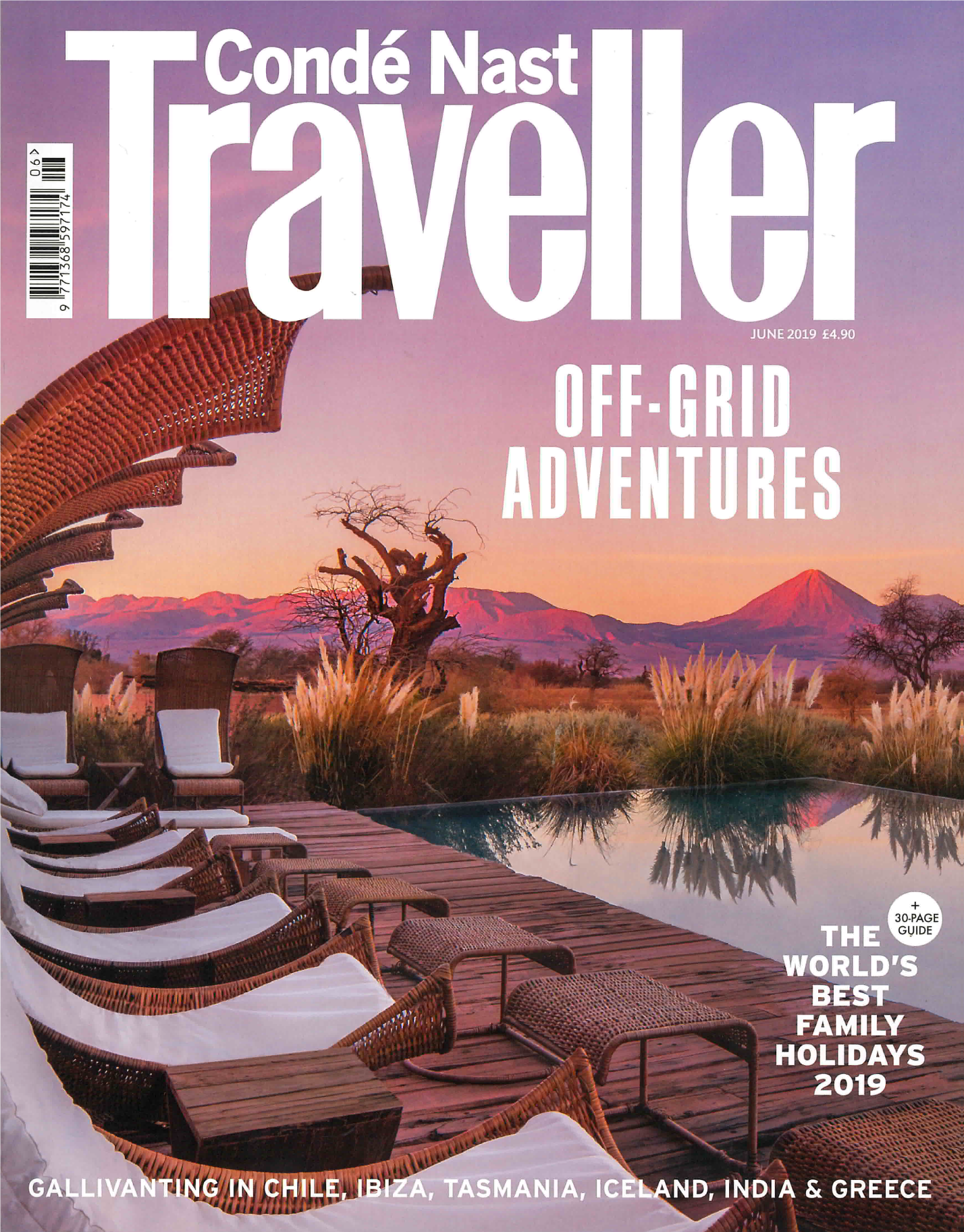 CONDE NAST TRAVELLER JUNE 2019 ISSUE