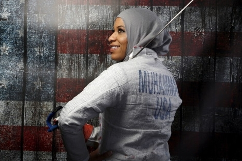 Olympic Fencer Ibtihaj Muhammad  (Source:  LUCY NICHOLSON / REUTERS)
