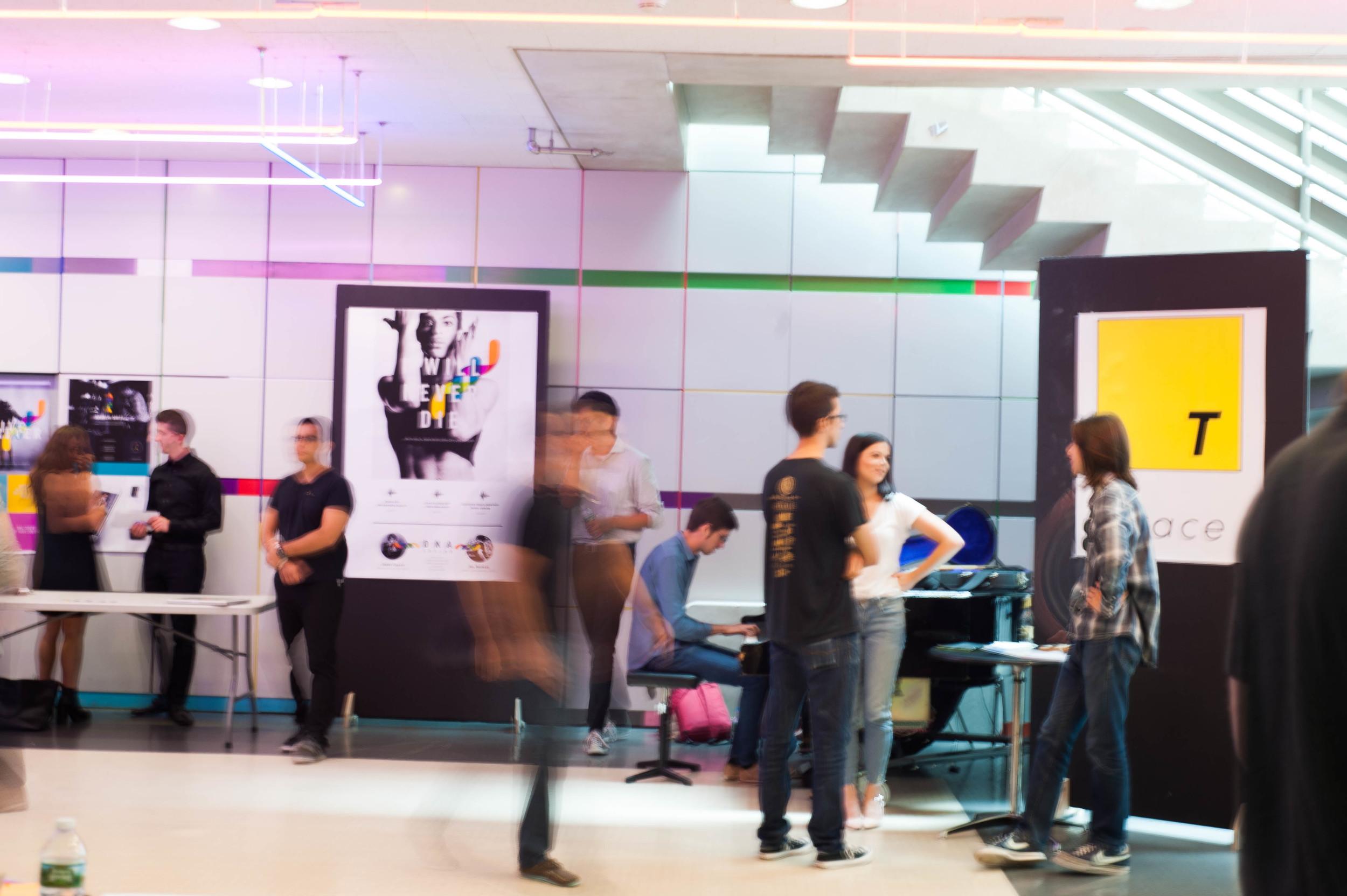 Fellows present at MIT's Media Lab.  Photo Credit: Tiffany Knight / IDEO