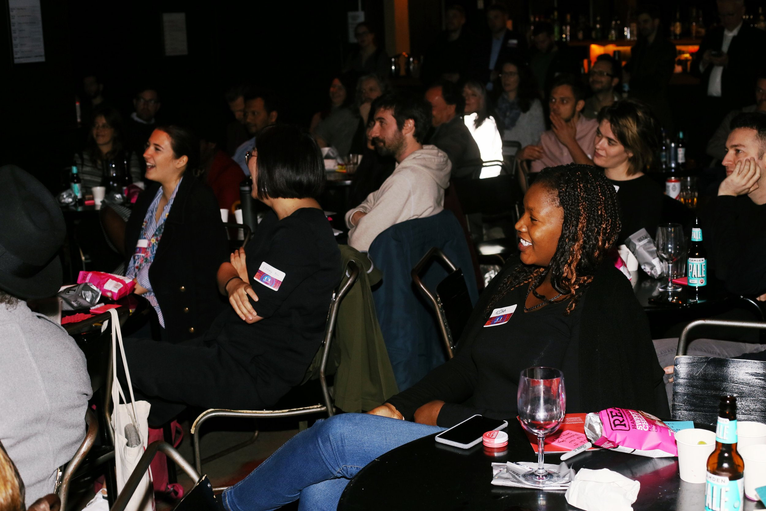 Local artists, Berklee alumni and Open Music members come together at the Ace Hotel Shoreditch London artist event