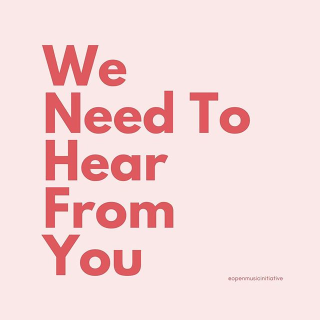 Calling all women in the music business: take 10 minutes to do the survey, share your experience and be heard. Link in bio  #WIMBerlee  #BerkleeICE #WIM  #musicbusiness