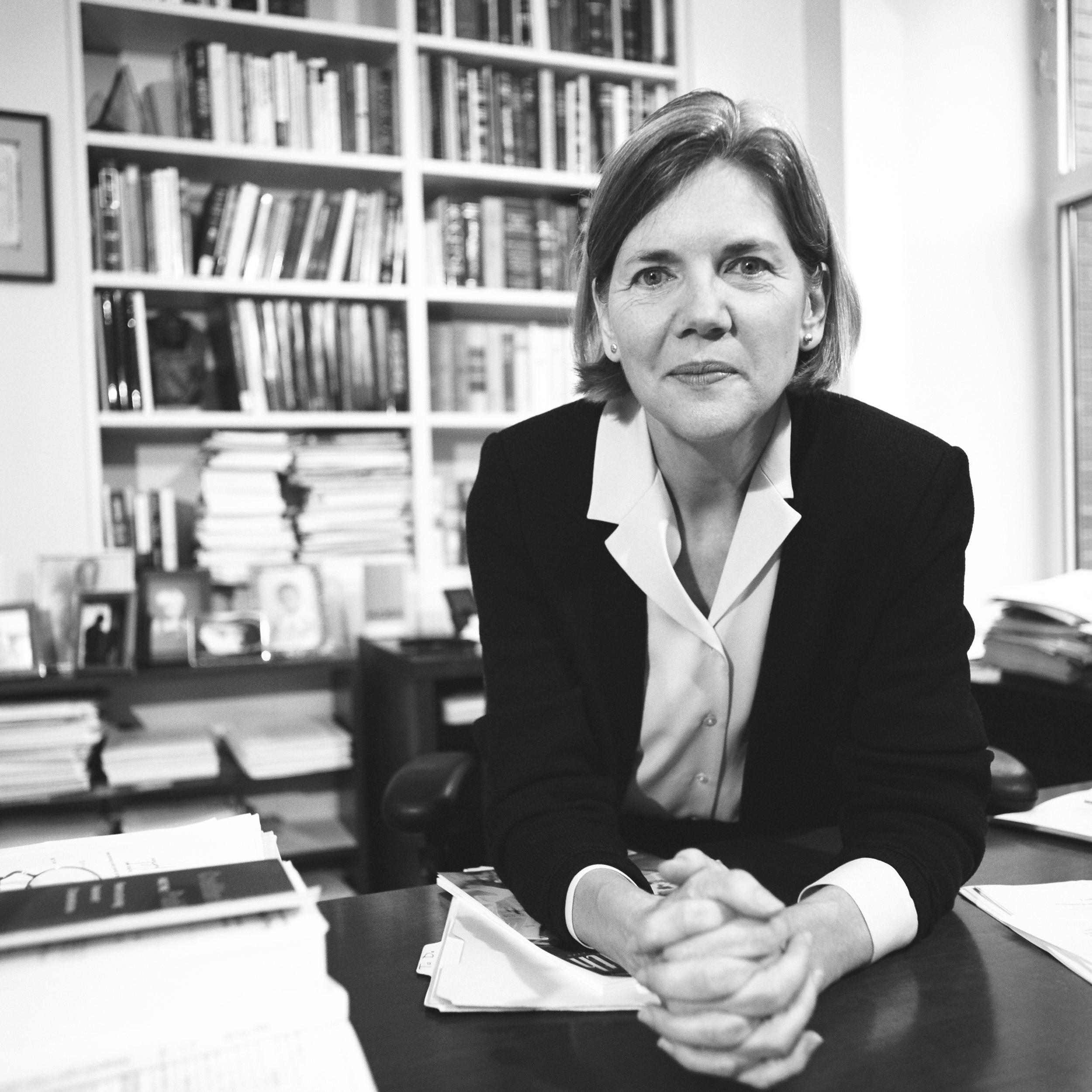Elizabeth Warren at Harvard
