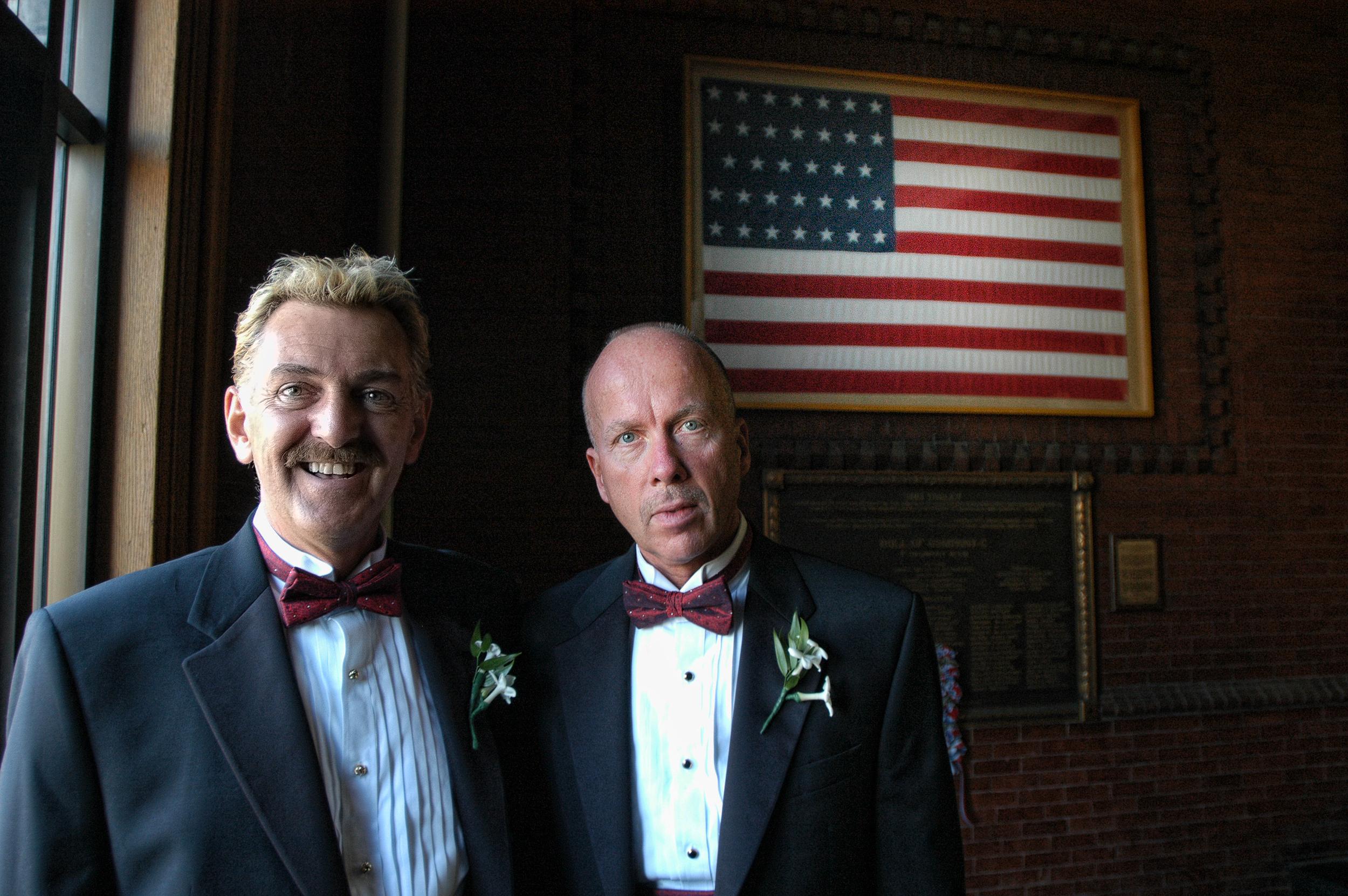 First Gay Wedding, Cambridge