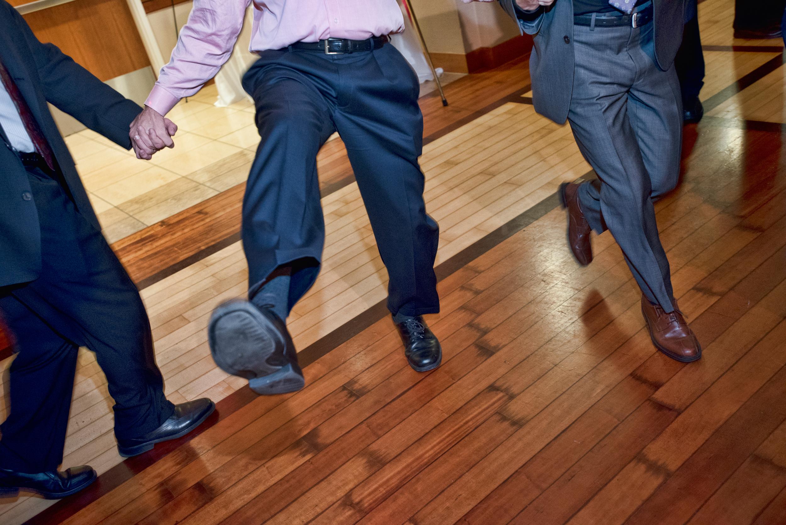 Kickin' it at the Bar Mitzvah