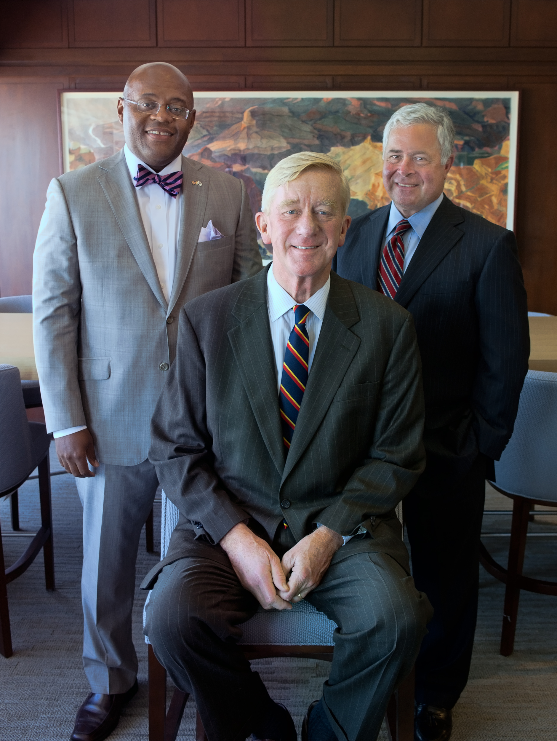 Bill Weld with the ML Consulting Group