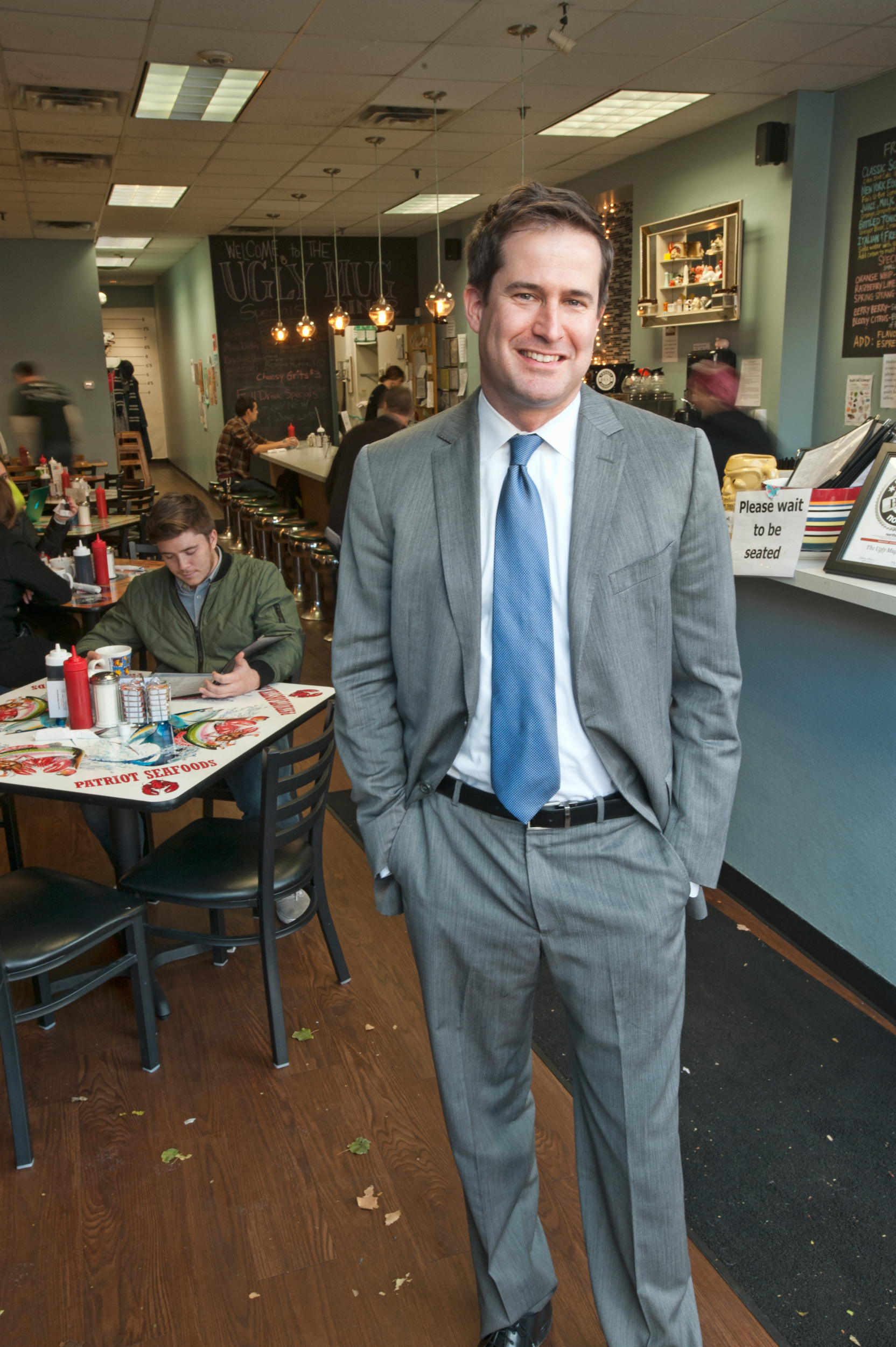 Seth Moulton, US Congressman for the 6th District, MA