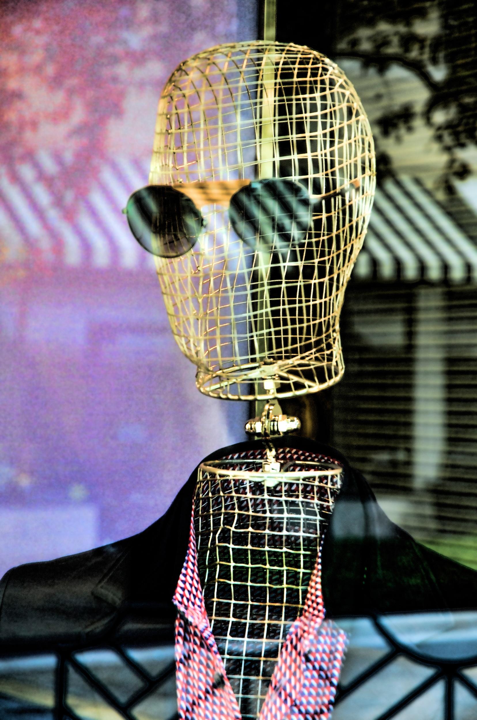 Storefront mannequin