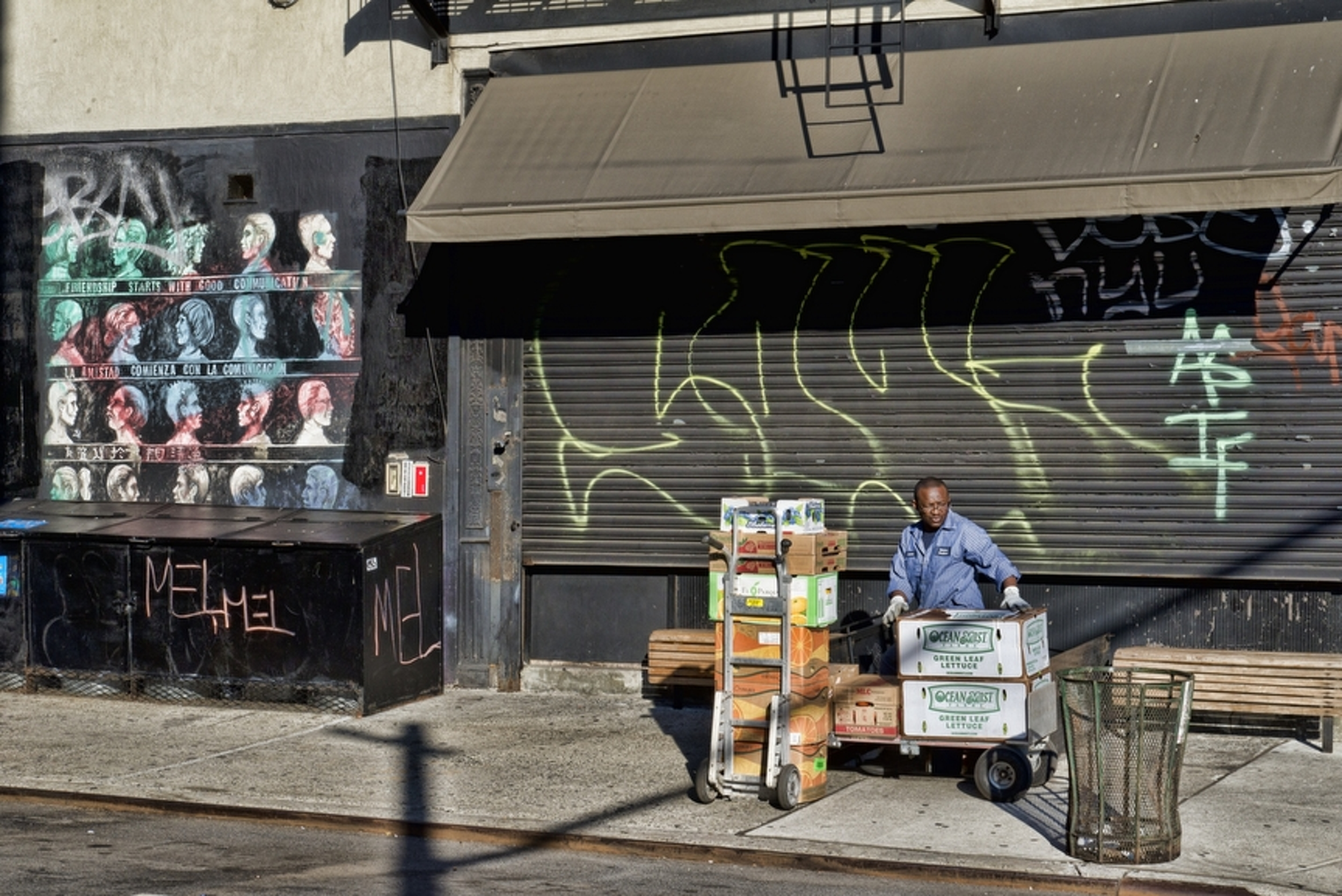 Food Delivery, Lower East Side