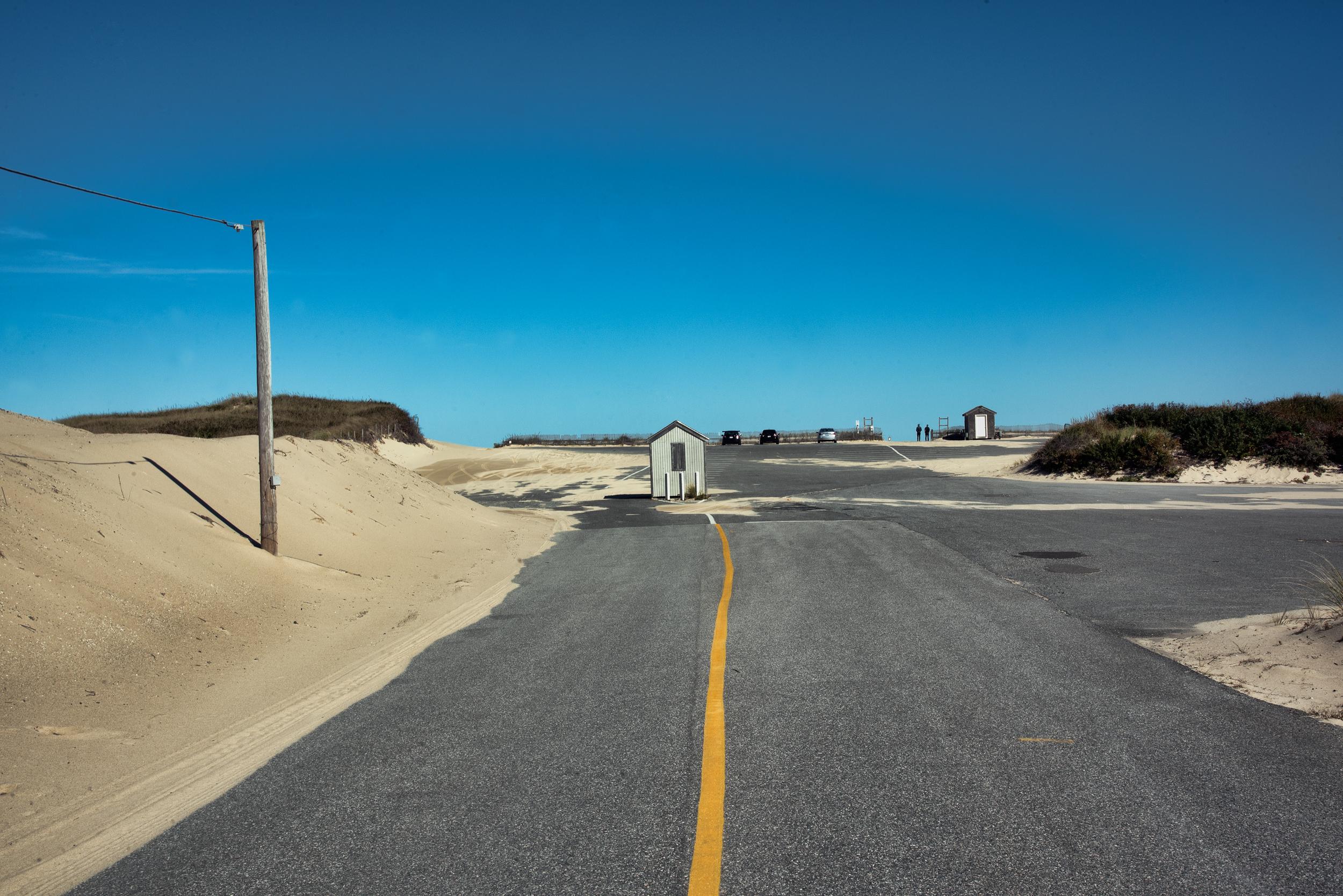 Parking Lot, Marconi Beach