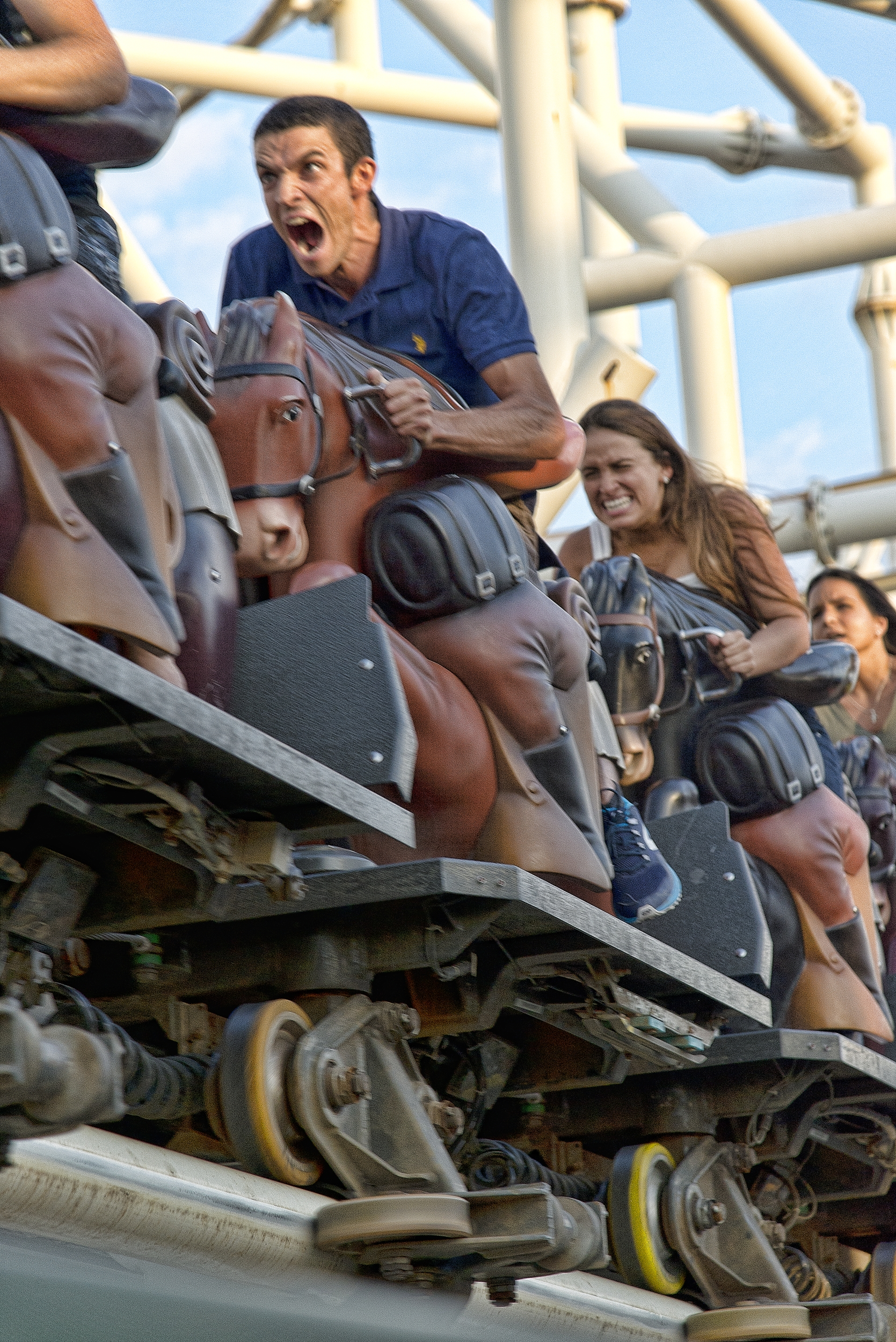 Riding the Cyclone