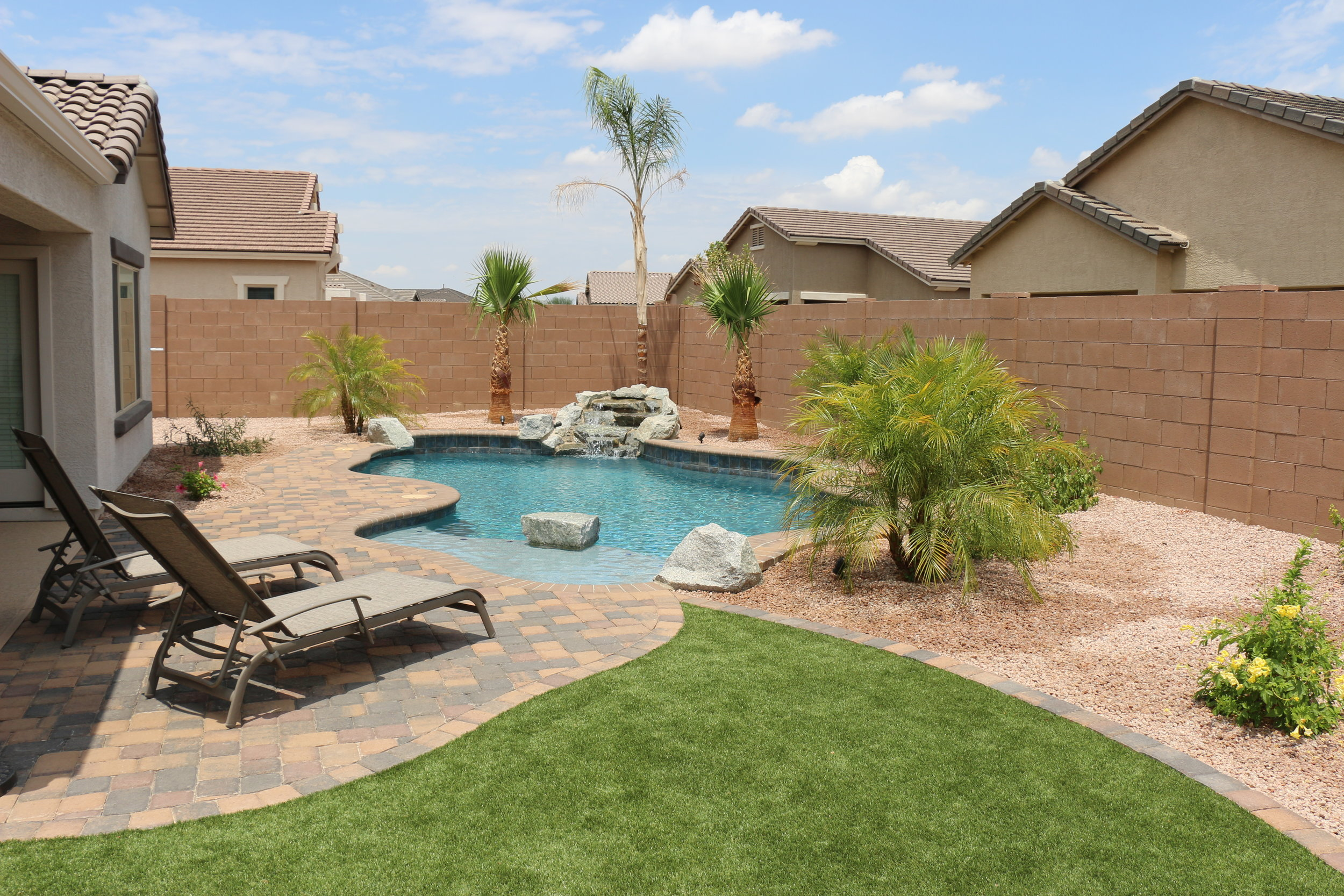 Simple Backyards — Presidential Pools, Spas & Patio of Arizona