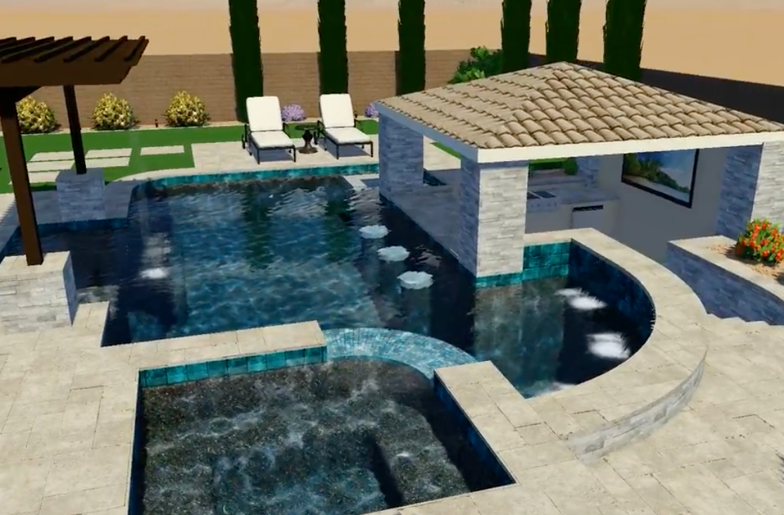 Swimming Pool Virtual Reality Design Arizona