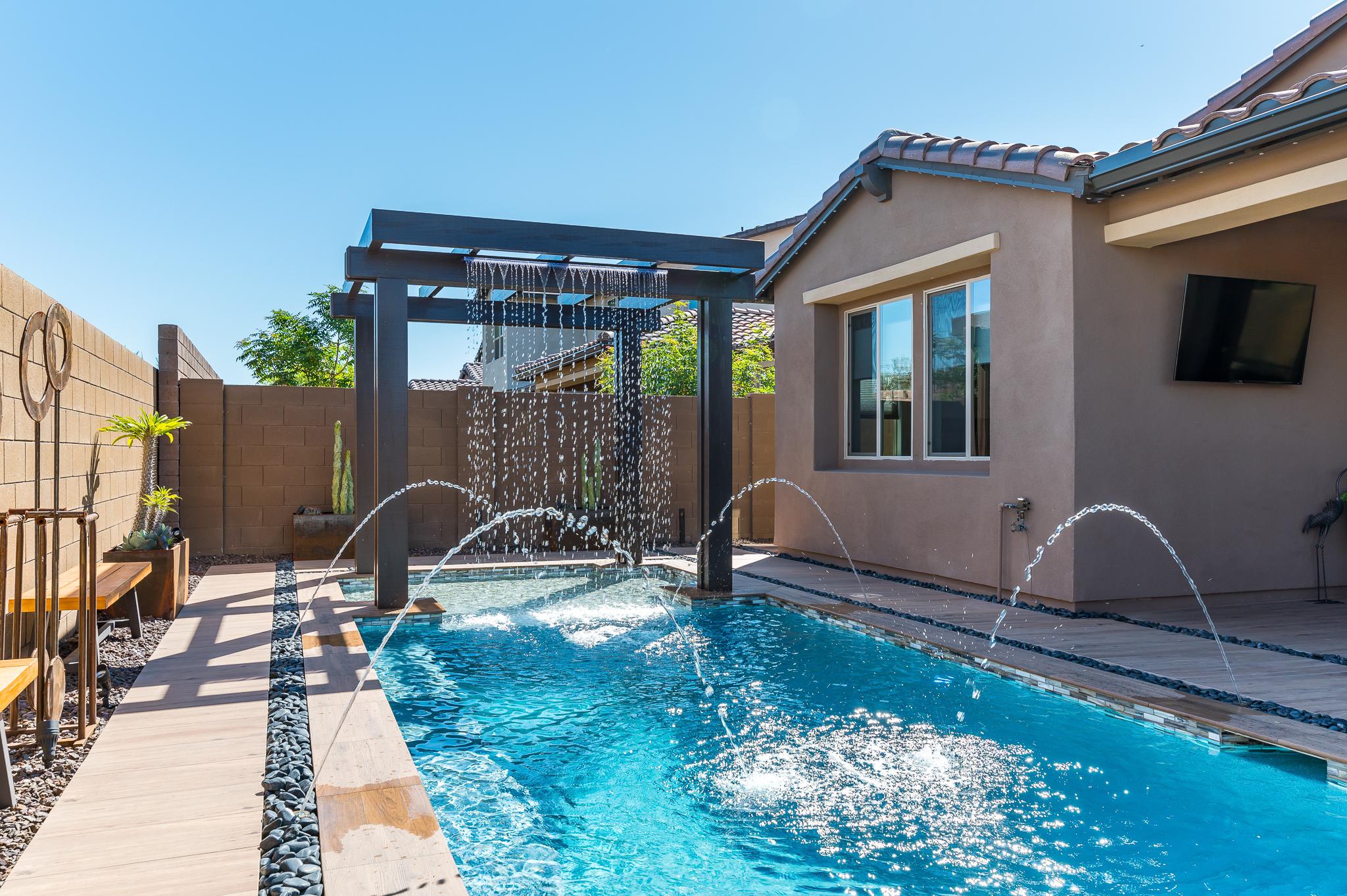 Geometric Swimming Pool Designs Presidential Pools Spas