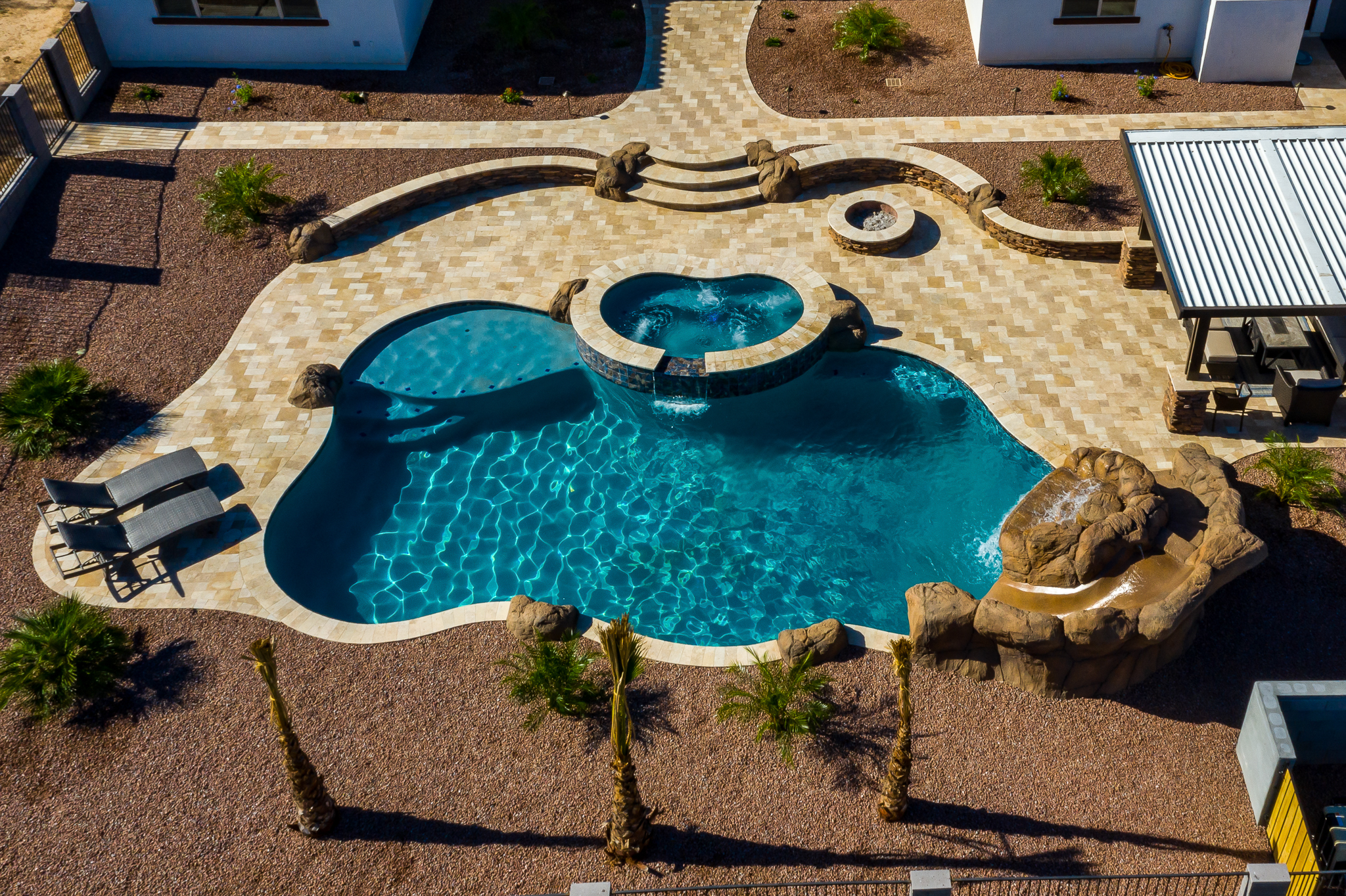 Freeform And Natural Swimming Pool Designs Presidential
