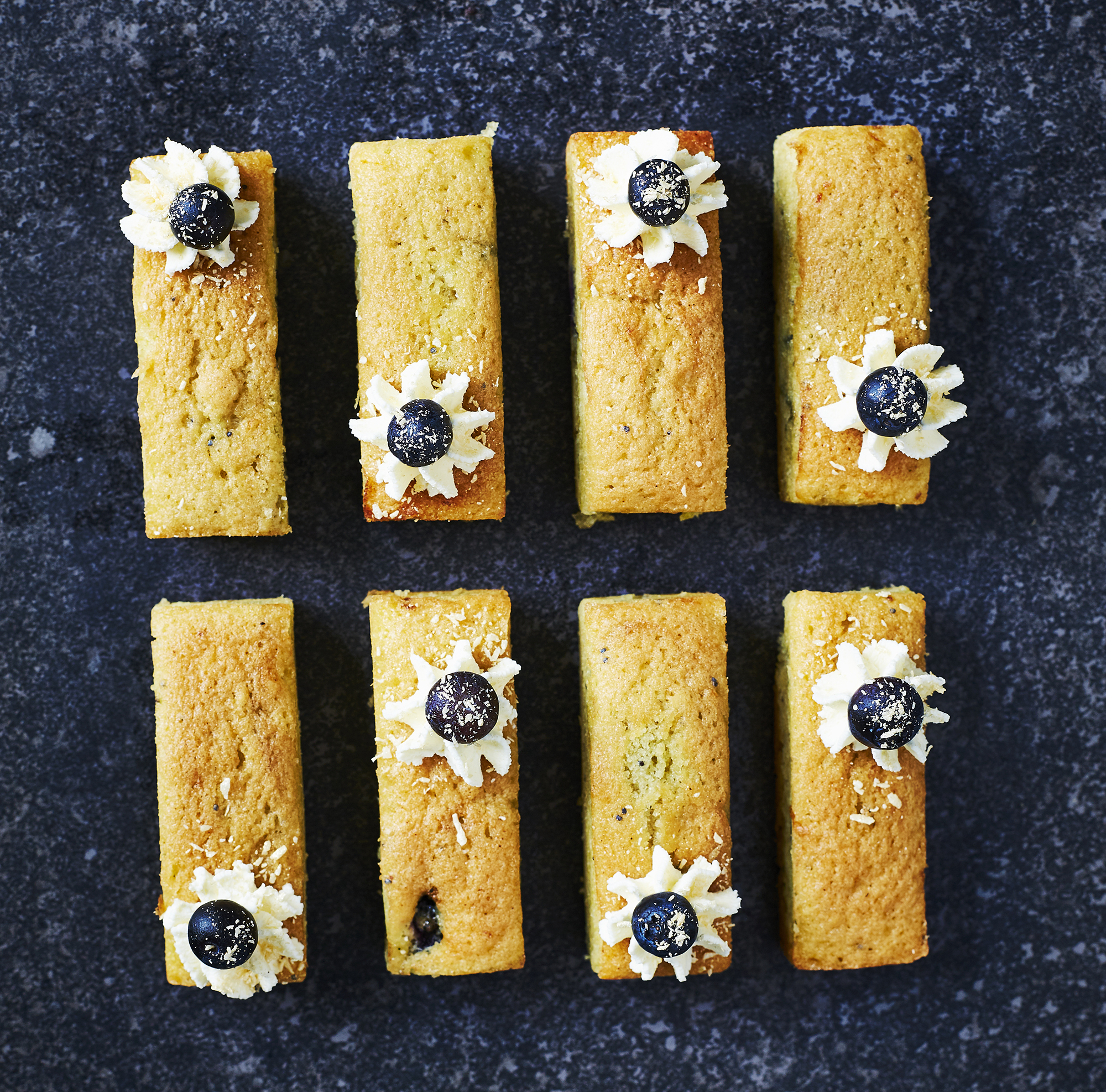 Gluten Free Lemon, Blueberry & Poppyseed Mini Loaf