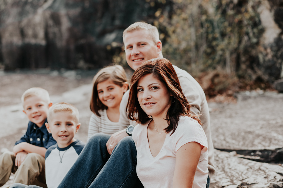 Columbus Georgia Family Photographer Flat Rock Park