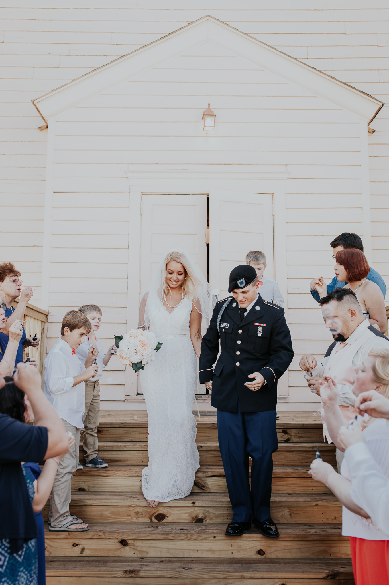 Brittany Martorella Photography | Fort Benning, Georgia | National Infantry Museum World War Two Chapel | Selena & Chad Wedding