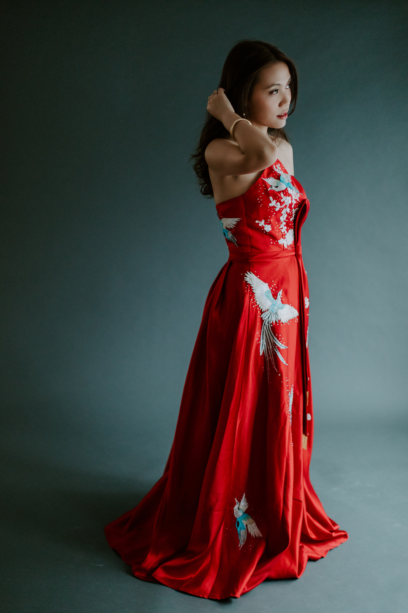Zhen Lin - Traditional Chinese Bridal Session — Brittany Martorella