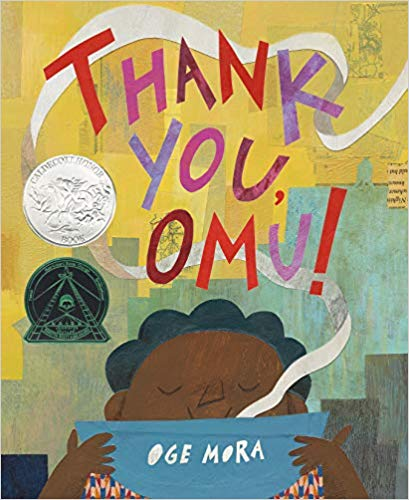 Thank you, Omu! - A 2019 Caldecott Honor BookWinner of the 2019 Coretta Scott King John Steptoe New Talent Illustrator AwardA 2019 Ezra Jack Keats Book Award WinnerA NYT Notable Children's Book of 2018A Publishers' Weekly Best Book of 2018A Bank Street Best Children's Book of 2018A Boston Globe Best Children's Book of 2018A School Library Journal Best Book of 2018A NYT Book Review Editors' Choice Staff PickA Chicago Public Library Best Book of 20182019 E.B. White Read-Aloud Award FinalistJumpstart Read for the Record Selection 2019