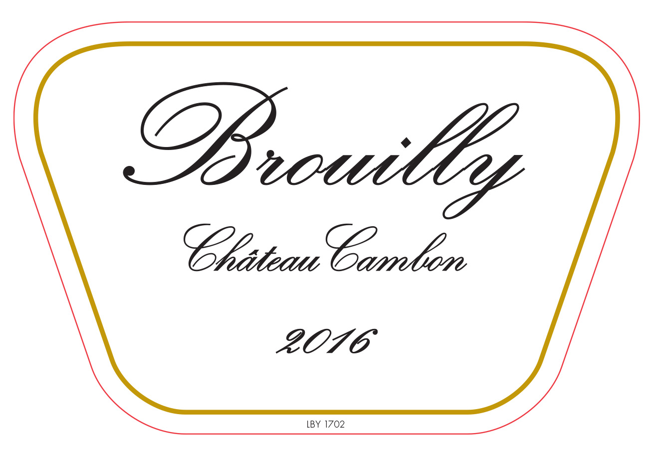 CHATEAU Cambon: Brouilly