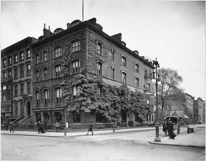 271 Fifth is the brownstone to left of the Calumet Club on the corner of 29th st.