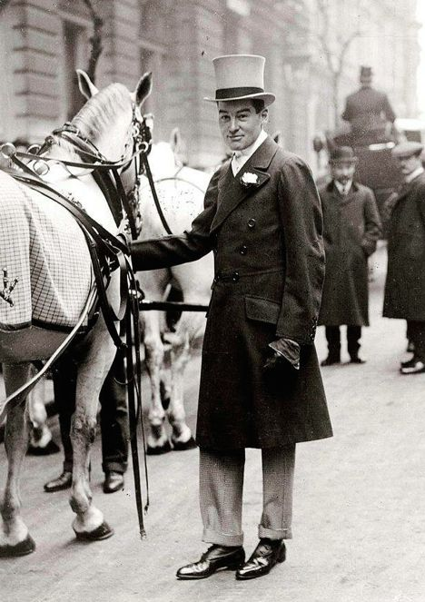The dashing AG Vanderbilt hosted many of his sporting and college friends Sagamore.