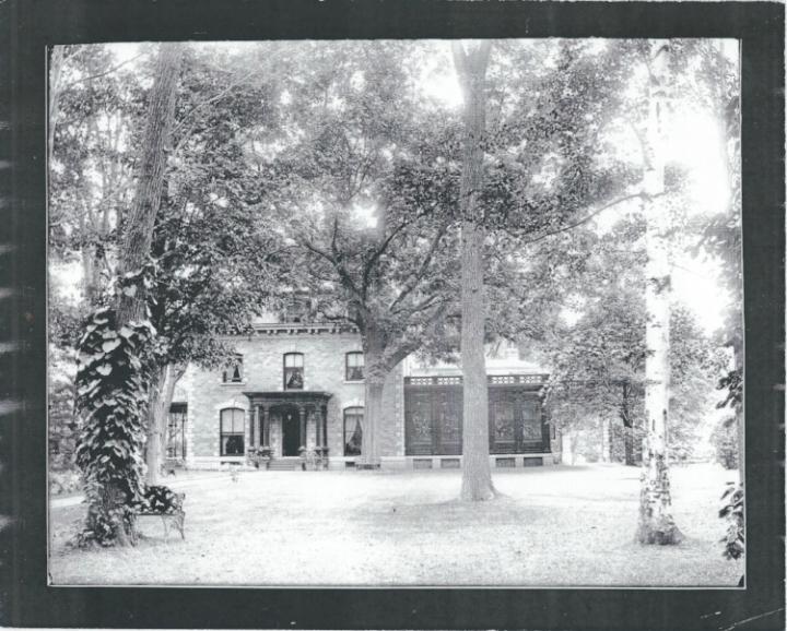 Fernleigh as originally built