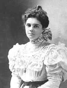 Alva as a young woman
