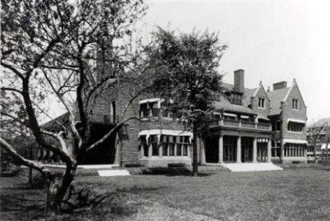 Rose Terrace, designed by Albert Kahn for the Dodges in 1910