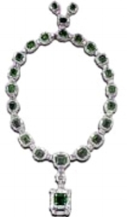 Emerald Necklace of Anna's auctioned by Christies in 1971