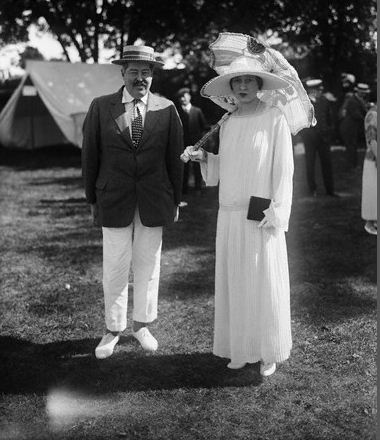Reggie and his second wife Gloria