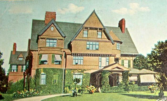 Arleigh, where the Neilson/Vanderbilt nuptials took place
