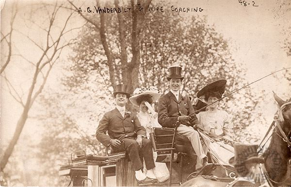 Alfred and his Bride Elsie sitting up front