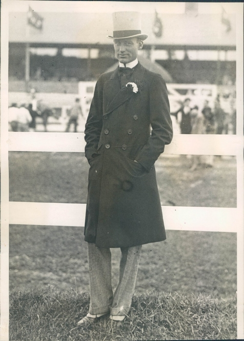 William Henry Vanderbilt (later governor of Rhode Island) at the Newport Horse Show