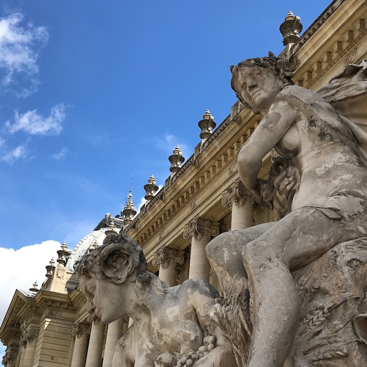 Entrance to the Petit Palais