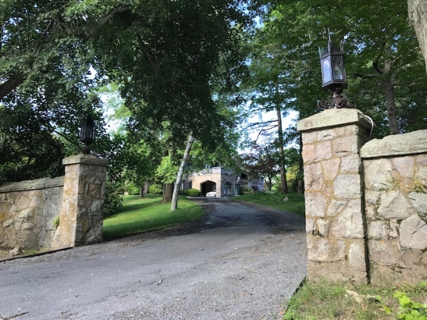 Chastellux from its gate