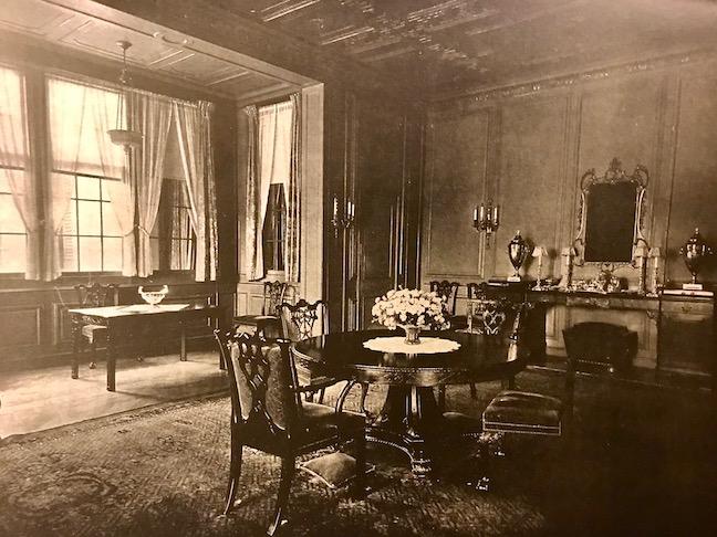 Dining Room at Girdle Ridge